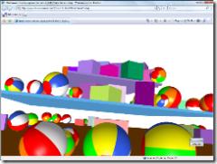 XBAP 3D physics