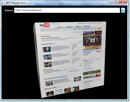 Youcube 3d web browser chris cavanagh 39 s blog 3d web browser