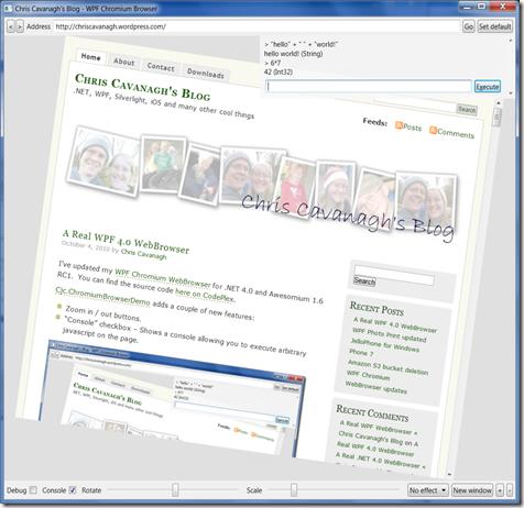 A Real WPF 4 0 WebBrowser   Chris Cavanagh's Blog